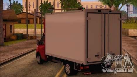 GAZel 3302 Business für GTA San Andreas linke Ansicht