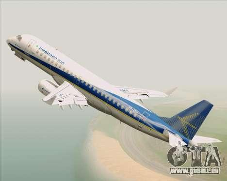 Embraer E-190-200LR House Livery für GTA San Andreas