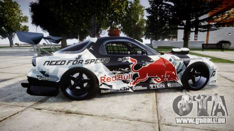 Mazda RX-7 Mad Mike pour GTA 4 est une gauche