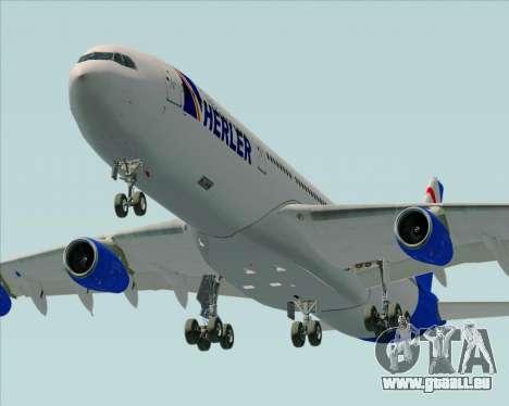 Airbus A340-300 Air Herler pour GTA San Andreas moteur