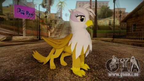 Gilda from My Little Pony für GTA San Andreas