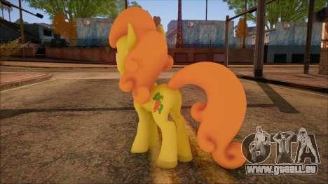 Carrot Top from My Little Pony pour GTA San Andreas deuxième écran