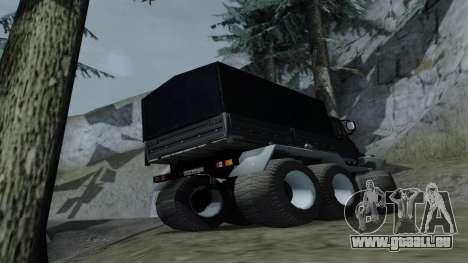 ZIL Kerzhak 6x6 pour GTA San Andreas vue de droite