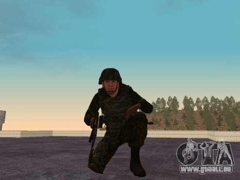 Les soldats de la MIA de la Fédération de russie pour GTA San Andreas quatrième écran