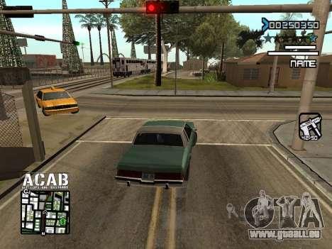 C-HUD by Edya pour GTA San Andreas deuxième écran