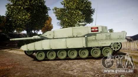 Leopard 2A7 AT Green für GTA 4 linke Ansicht