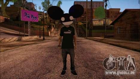 Deadmau5 Skin pour GTA San Andreas