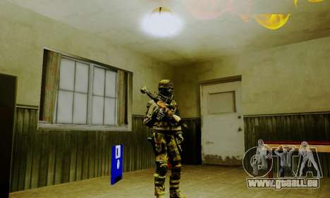 Weapon pack from CODMW2 für GTA San Andreas zwölften Screenshot