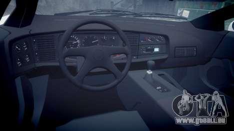 Jaguar XJ220 1992 [EPM] Gumball 3000 pour GTA 4 est une vue de l'intérieur