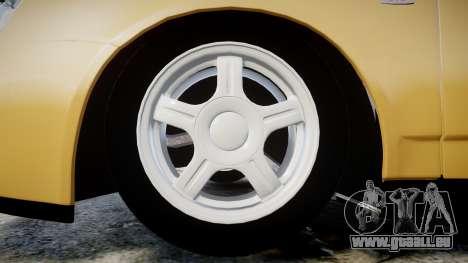 ВАЗ-2170 Installé Prieure 2014 pour GTA 4 Vue arrière