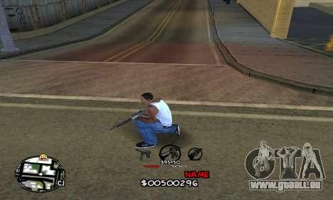 C-HUD by Jackson pour GTA San Andreas deuxième écran