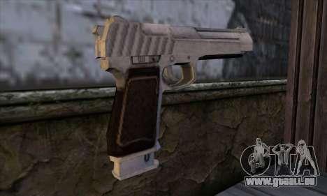 Pistol 50 from GTA 5 für GTA San Andreas zweiten Screenshot