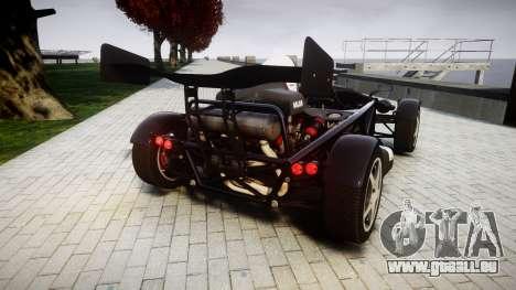Ariel Atom V8 2010 [RIV] v1.1 AsymBon pour GTA 4 Vue arrière de la gauche