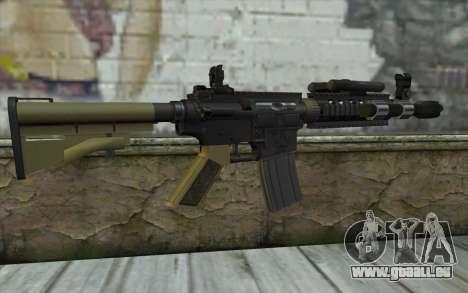M4 MGS Aimpoint v1 für GTA San Andreas zweiten Screenshot
