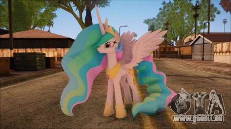 Celestia from My Little Pony pour GTA San Andreas
