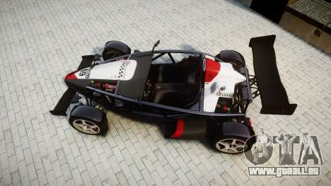 Ariel Atom V8 2010 [RIV] v1.1 Garton Racing Team pour GTA 4 est un droit