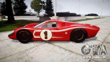 Ford GT40 Mark IV 1967 PJ 1 pour GTA 4 est une gauche
