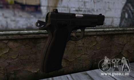 CZ75 v1 pour GTA San Andreas deuxième écran