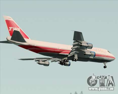 Boeing 747-100 Trans World Airlines (TWA) für GTA San Andreas Räder