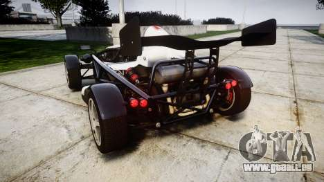 Ariel Atom V8 2010 [RIV] v1.1 FUEA Equipped für GTA 4 hinten links Ansicht