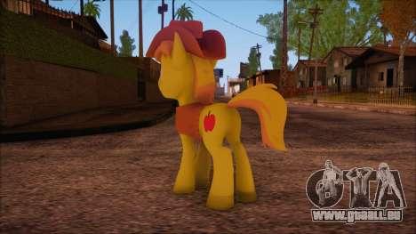Braeburn from My Little Pony pour GTA San Andreas deuxième écran