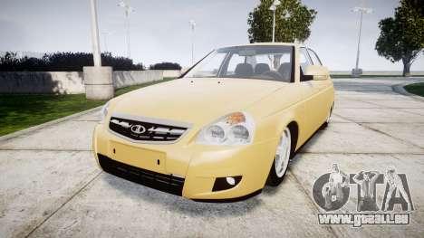 ВАЗ-2170 Installé Prieure 2014 pour GTA 4