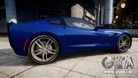 Chevrolet Corvette C7 Stingray 2014 v2.0 TireYA3 pour GTA 4 est une gauche