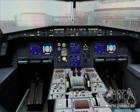 Airbus A340-300 Air Herler pour GTA San Andreas salon