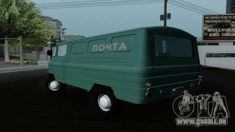Zuk A06 pour GTA San Andreas laissé vue