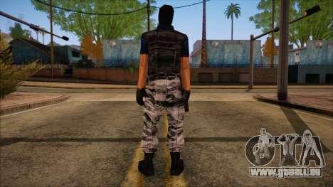 Terror from Counter Strike Condition Zero pour GTA San Andreas deuxième écran