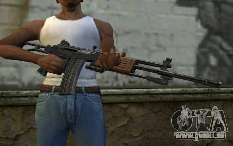 Galil v1 pour GTA San Andreas troisième écran