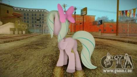 Flitter from My Little Pony pour GTA San Andreas deuxième écran
