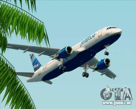 Airbus A320-200 JetBlue Airways pour GTA San Andreas vue intérieure