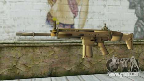 AK12 from Battlefield 4 pour GTA San Andreas