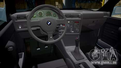 BMW M3 E30 1991 [EPM] pour GTA 4 est une vue de l'intérieur