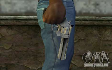 Revolver from Max Payne 3 pour GTA San Andreas troisième écran