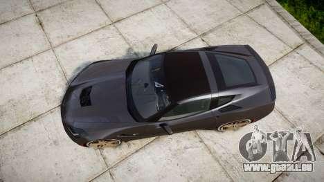 Chevrolet Corvette C7 Stingray 2014 v2.0 TireBr3 für GTA 4 rechte Ansicht
