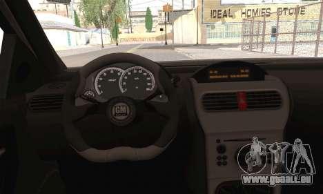 Opel Corsa 5-Doors pour GTA San Andreas sur la vue arrière gauche