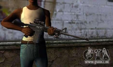 New M4 pour GTA San Andreas troisième écran
