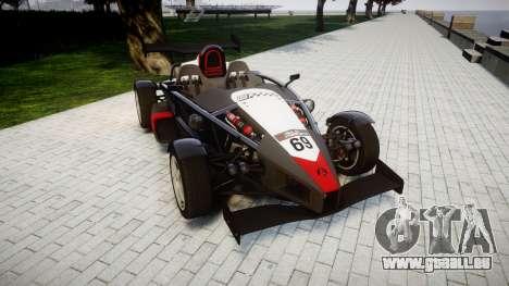 Ariel Atom V8 2010 [RIV] v1.1 Garton Racing Team pour GTA 4