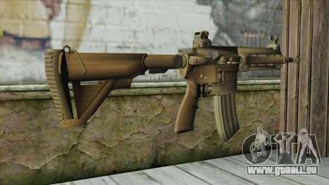 M4 from Battlefield 4 pour GTA San Andreas deuxième écran