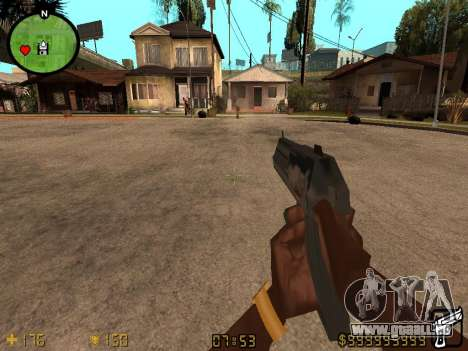 Counter-Strike HUD für GTA San Andreas zweiten Screenshot