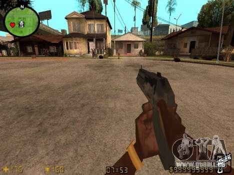 Counter-Strike HUD pour GTA San Andreas deuxième écran