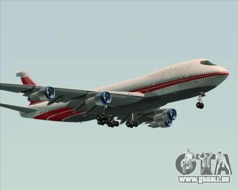 Boeing 747-100 Trans World Airlines (TWA) pour GTA San Andreas vue arrière