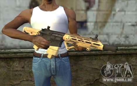 AR-25c pour GTA San Andreas troisième écran
