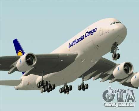 Airbus A380-800F Lufthansa Cargo für GTA San Andreas Motor