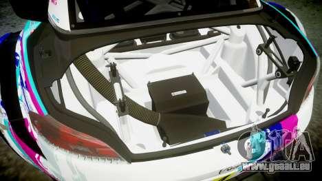 BMW Z4 GT3 2014 Goodsmile Racing für GTA 4 Unteransicht