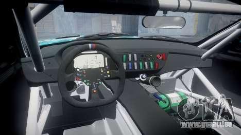 BMW Z4 GT3 2014 Goodsmile Racing pour GTA 4 est une vue de l'intérieur