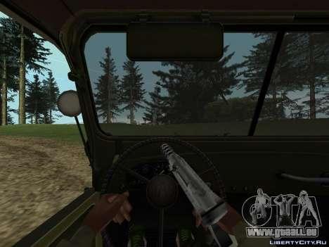 GAZ-69 für GTA San Andreas rechten Ansicht