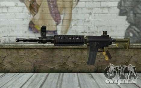M4 MGS Iron Sight v1 für GTA San Andreas